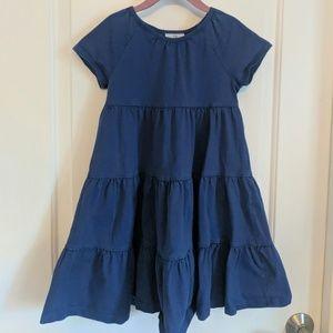 Hanna Andersson Blue Twirl Dress 110
